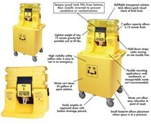 ON-SITE®  GRAVITY-FED EYEWASH & TRANSPORT CART