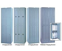 HANGING GARMENT LOCKERS